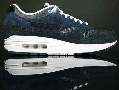 5dddddc85a These Air Max 1's are simple featuring one with a Dark Obsidian upper and  the other with Team Red. Both are available for $92 at Premier and their  online ...